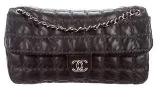 Chanel Tweed Double Stitch Maxi Flap Bag