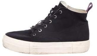 Eytys Canvas High-Top Platform Sneakers