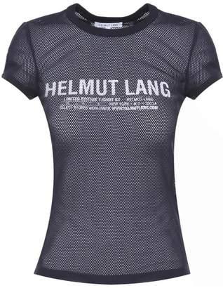 Helmut Lang Logo-print Mesh T-shirt