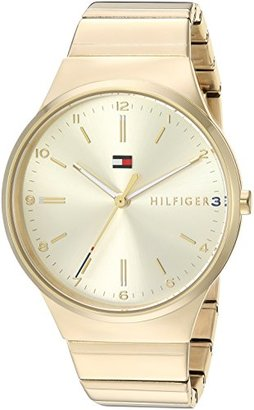 Tommy Hilfiger (トミー ヒルフィガー) - Tommy Hilfigerレディース'高度なSport ' QuartzステンレススチールCasual Watch , Color : gold-toned (モデル: 1781798 )