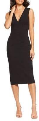 Dress the Population Sandy Sleeveless Sheath Dress
