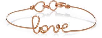 Rosegold Atelier Paulin Love 14K Rose-Gold Bracelet