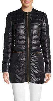 Salvatore Ferragamo Outerwear Quilted Down Coat