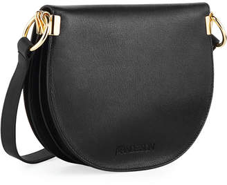 J.W.Anderson Latch Goatskin Leather Saddle Shoulder Bag