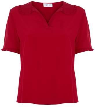 Claudie Pierlot Frill Trim Shirt