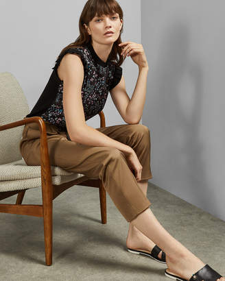 Ted Baker LETINO Hazel sleeveless knitted top