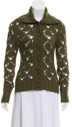 Dolce & Gabbana Cable Knit Cardigan