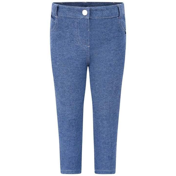 Christian LacroixBaby Boys Blue Denim Look Trousers