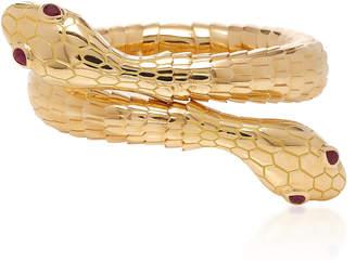 Sidney Garber 18K Yellow Gold Il Serpente Bracelet