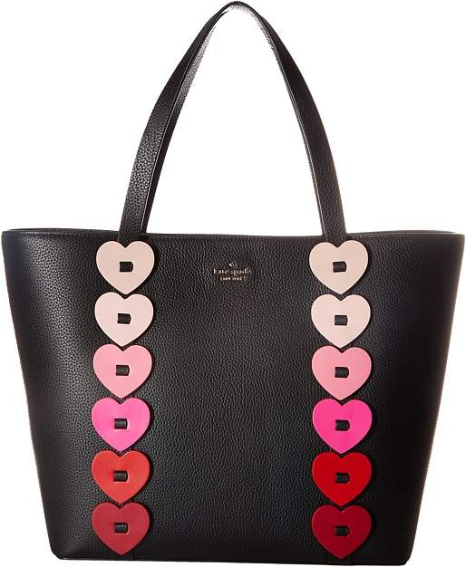 Kate Spade New York - Yours Truly Ombre Heart Tote Tote Handbags