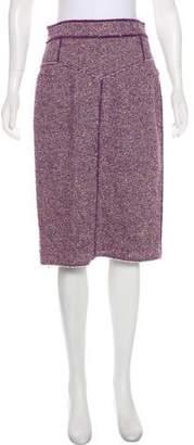 Marc Jacobs Wool Pencil Skirt