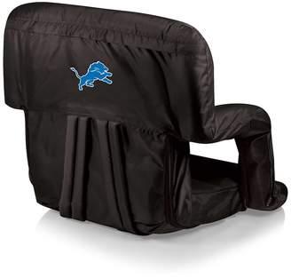 Picnic Time Detroit Lions Ventura Portable Recliner Chair