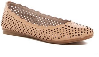 Easy Spirit Gelica Flat - Wide Width Available $69 thestylecure.com