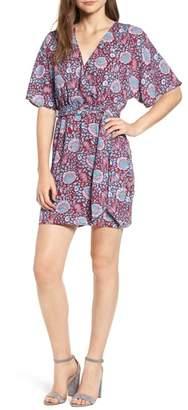 Rebecca Minkoff Janae Floral Wrap Dress
