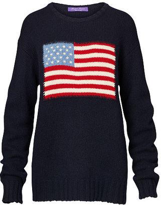 Ralph Lauren Flag Cashmere Crewneck Sweater $1,490 thestylecure.com