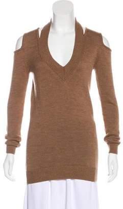 Zero Maria Cornejo Merino Wool Knit Sweater