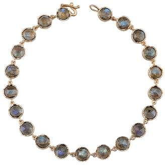 Irene Neuwirth Small Rose Cut Labradorite Bracelet - Rose Gold