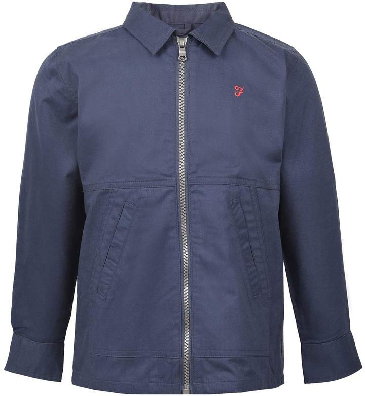 Boys Zip Through Shirt Jacket