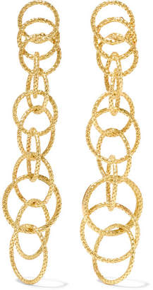 Buccellati Hawaii Honolulu 18-karat Gold Earrings - one size