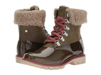 Caterpillar Casual Hub Hiker Fur Women's Lace-up Boots