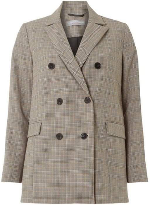 Womens Petite Heritage Checked Jacket