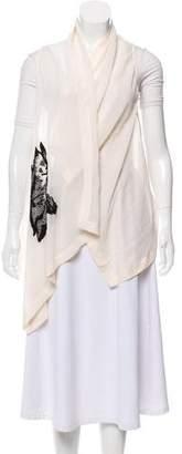 Ann Demeulemeester Silk Sheer Vest