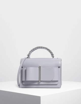 Charles & Keith Bow Detail Handbag