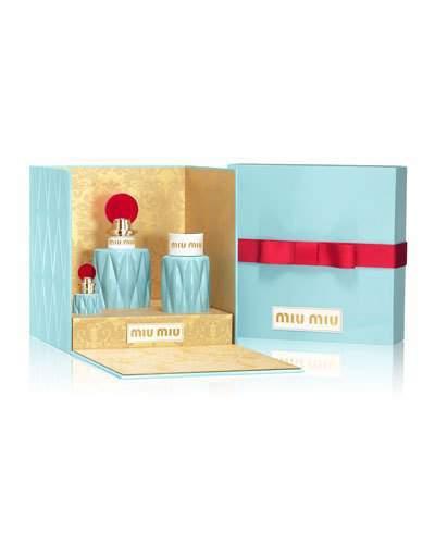 Miu MiuMiu Miu Holiday Fragrance Boxed Gift Set ($166 Value)