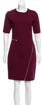 Yoana Baraschi Zip-Accented Knee-Length Dress