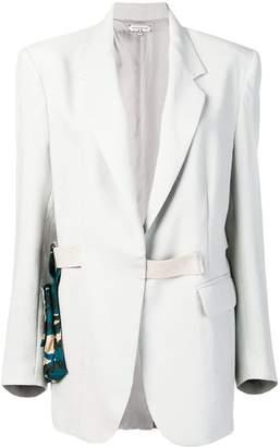 Natasha Zinko oversized blazer with belt bag