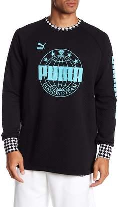 Puma X Diamond Crew Neck Sweatshirt