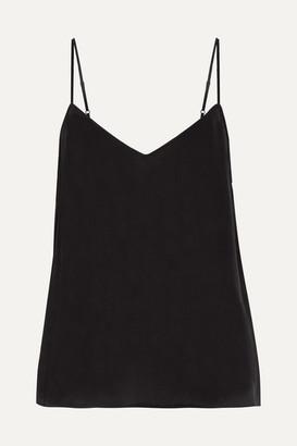 Equipment Layla Washed-silk Camisole - Black