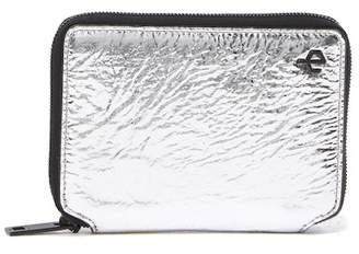 Rag & Bone Small Metallic Zip-Around Wallet