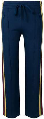 Etoile Isabel Marant contrasting side panels trousers