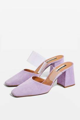 Topshop GOLDIE Clear Strap Mules