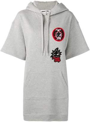 McQ SS jersey hoodie dress
