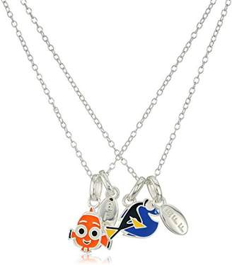 Disney Sterling Finding Dory BFF Nemo and Pendant Jewelry Set
