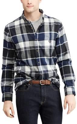 Chaps Men's Slim-Fit Performance Flannel Button-Down Shirt