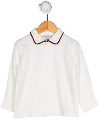 Papo d'Anjo Boys' Collared Shirt w/ Tags