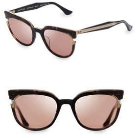 Dita Eyewear Women's 50MM Monthra Round Sunglasses - Tortoise Brown
