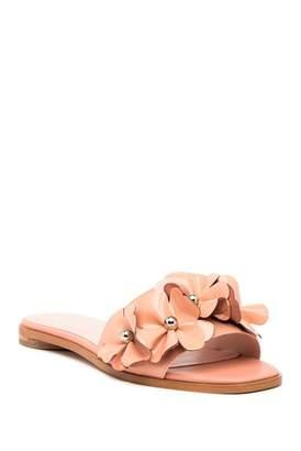 AVEC LES FILLES Baha Floral Slide Sandal