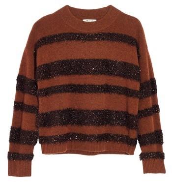 Madewell Tinsel Stripe Sweater