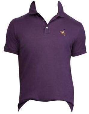 Ralph Lauren Purple Label Cotton Pique Standing Horse Polo