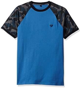 Armani Jeans Men's Slim Fit Pima Cotton Camouflage T-Shirt