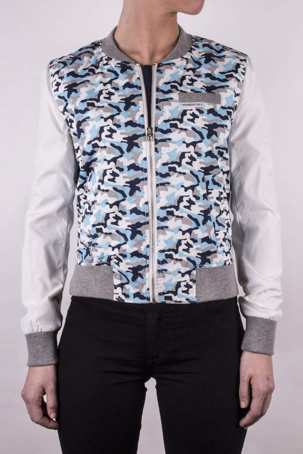 Members Only Camouflage Baseball Jacket