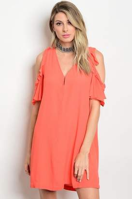 Do & Be Cold Shoulder Dress