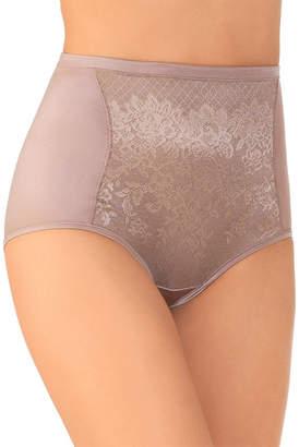 Vanity Fair Body Caress Smoothing Comfort Lace Brief Panties - 13262