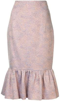 Ginger & Smart Cause and Effect jacquard skirt