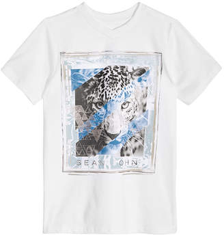 Sean John Big Boys Graphic-Print Cotton T-Shirt