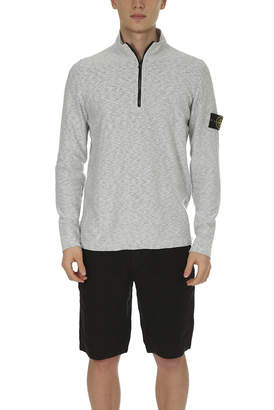 Stone Island Half Zip Knit Sweater